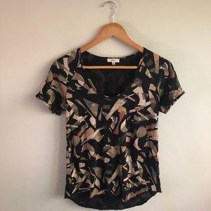 ARITIZIA || Wilfred Geometric T-Shirt